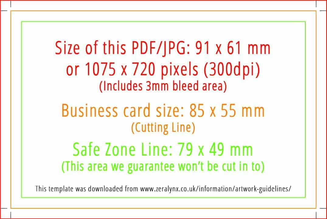 Artwork guidelines zeralynx print direct double size business card pdf or jpg template cheaphphosting