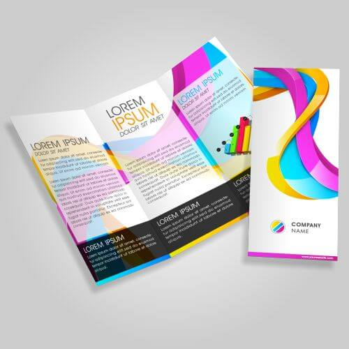 folded leaflet brochure printing fast printing great prices taunton