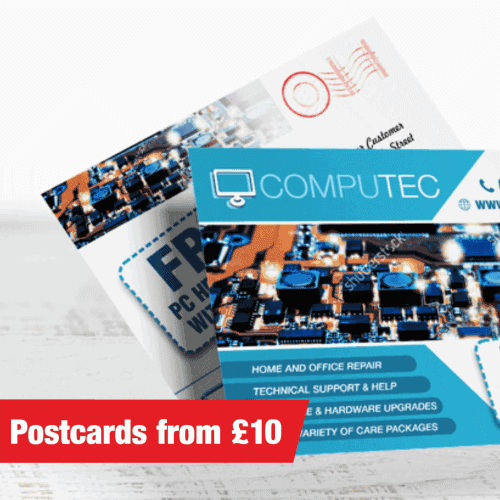 printed postcards